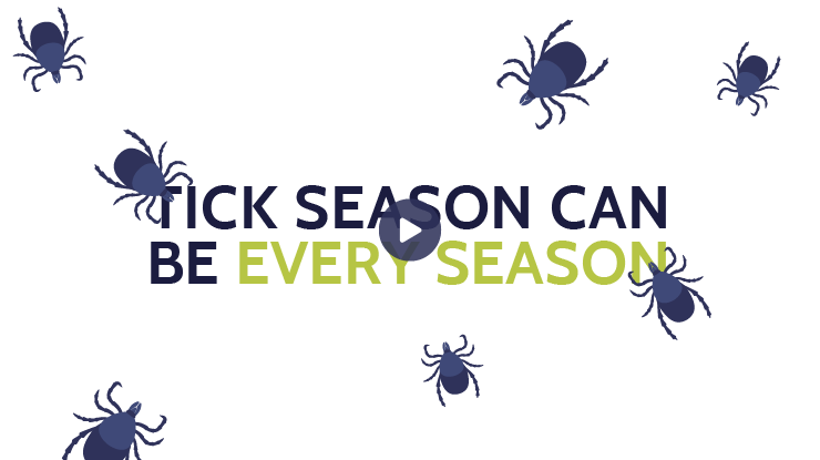 Tick season can be every season (video)